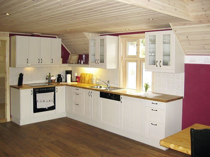 Angelreisen Norwegen 41131 Innvær Küche