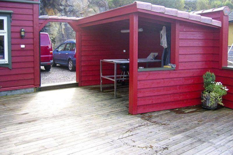 Angelreisen Norwegen 41132 Innvær Filetierplatz