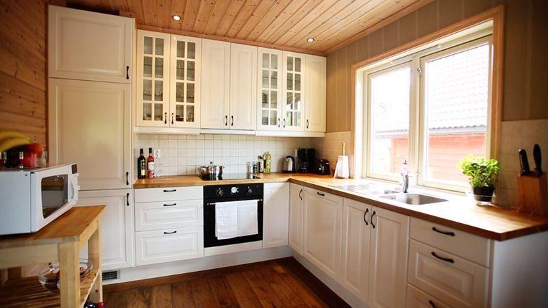 Angelreisen Norwegen 41132 Innvær Küche