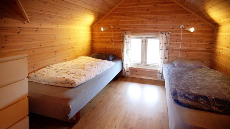 Angelreisen Norwegen 41132 Innvær schlafen