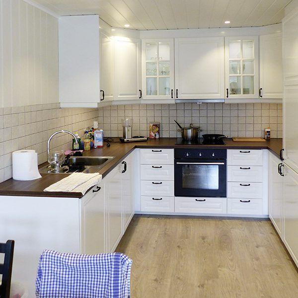 Angelreisen Norwegen 41141-144 Westside Lodge Küche
