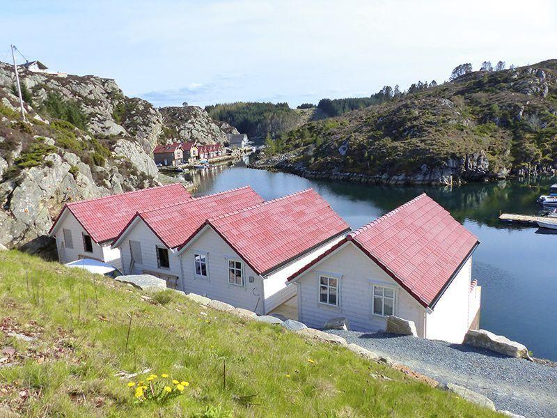 Angelreisen Norwegen 41141-41144 Westside Lodge Rückansicht