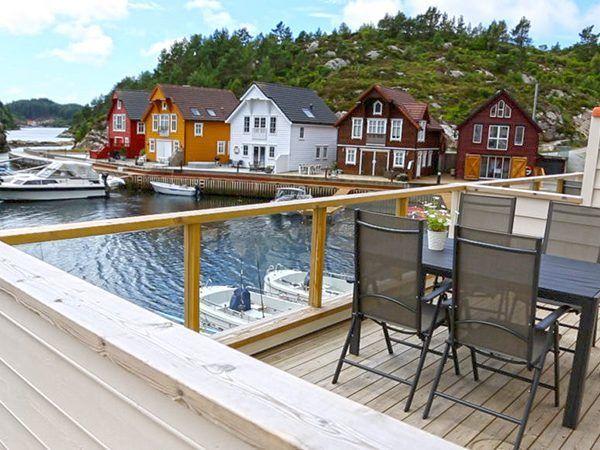 Angelreisen Norwegen 41141-144 Westside Lodge Terrasse