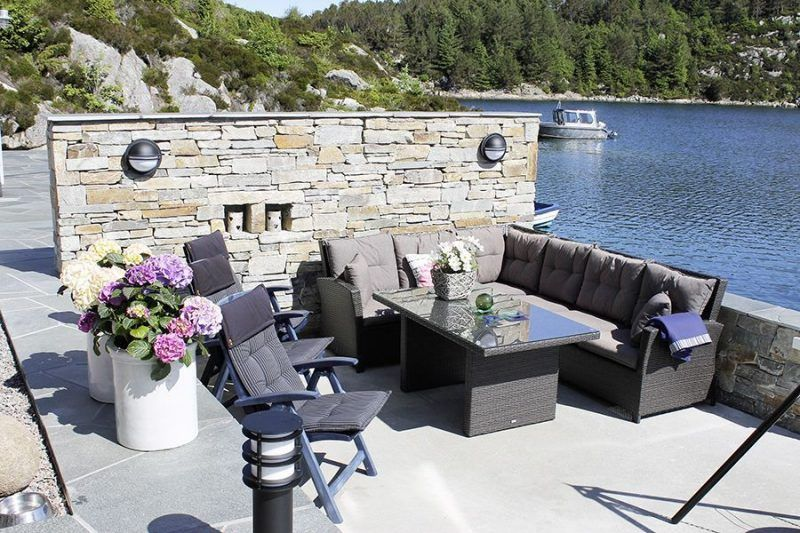 Angelreisen Norwegen 41180 Bjørnebu Terrasse