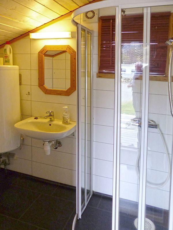 Angelreisen Norwegen 41222 Rabben Dusche