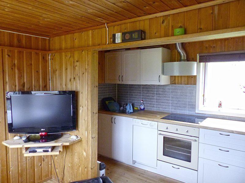 Angelreisen Norwegen 41227 Rabben Küche + TV