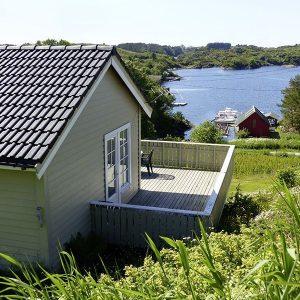 Angelreisen Norwegen 41301-41305 Nordbø Feriehus Wasserblick