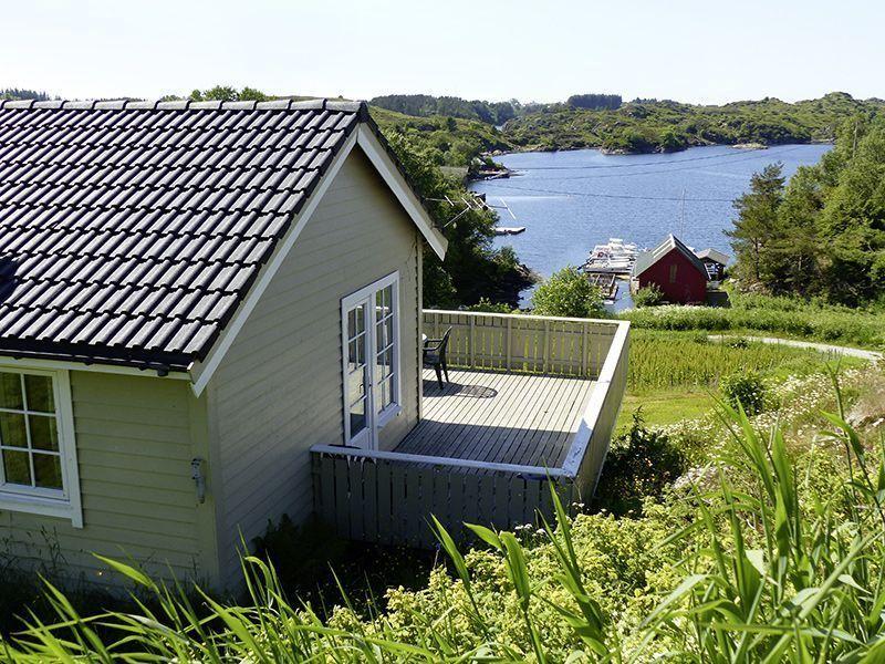 Angelreisen Norwegen 41301-305 Nordbø Feriehus Wasserblick