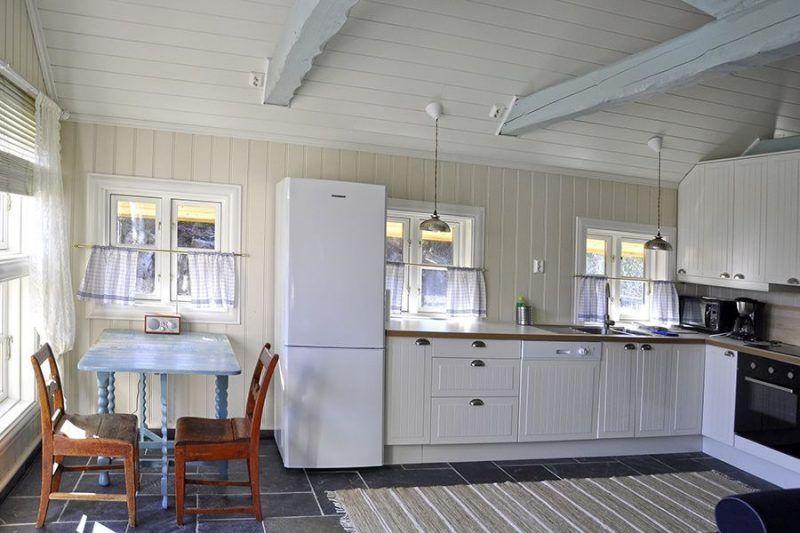 Angelreisen Norwegen 41331 Haus Sotra Küche