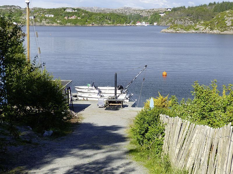 Angelreisen Norwegen 41331-41333 Haus Sotra Weg zum Boot