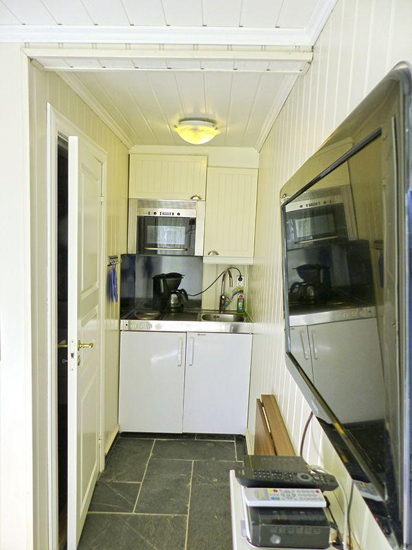Angelreisen Norwegen 41332-333 Haus Sotra Küche