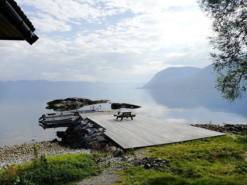 Angelreisen Norwegen 41401-41403 Sognefjord Ferienhäuser Steg
