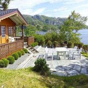 Angelreisen Norwegen 41471 Falkevik Hytter Ansicht
