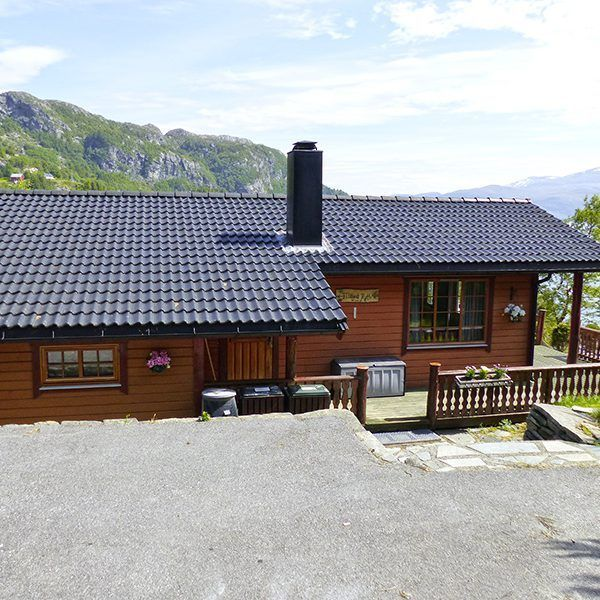 Angelreisen Norwegen 41471 Falkevik Hytter Außenansicht