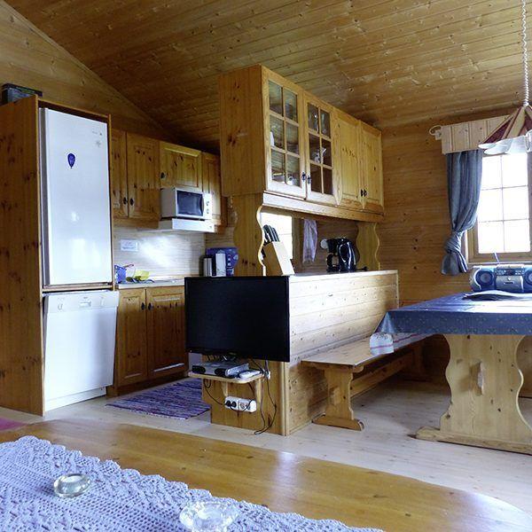 Angelreisen Norwegen 41471 Falkevik Hytter Küche+Essen