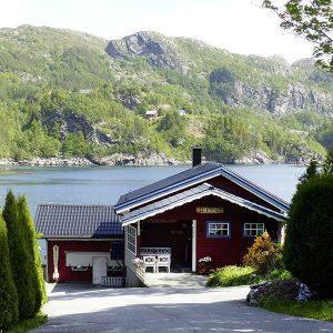 Angelreisen Norwegen 41472 Falkevik Hytter Ansicht