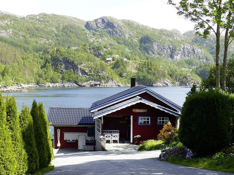 Angelreisen Norwegen 41472 Falkevik Hytter Ansicht1