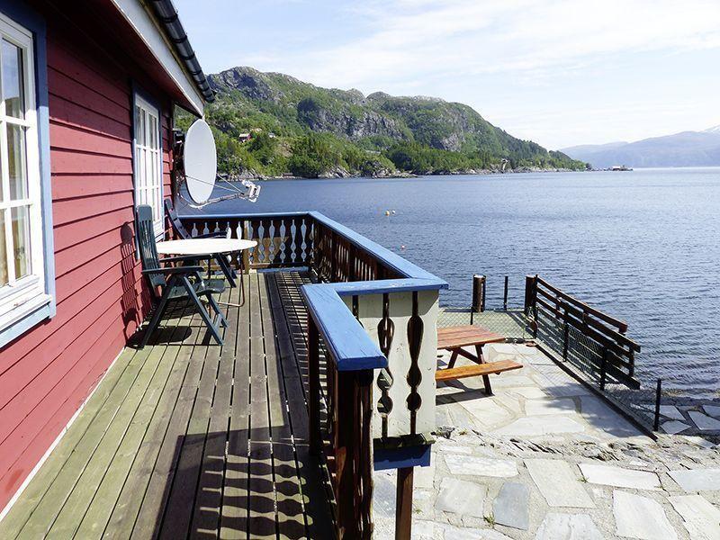 Angelreisen Norwegen 41472 Falkevik Hytter Außenansicht