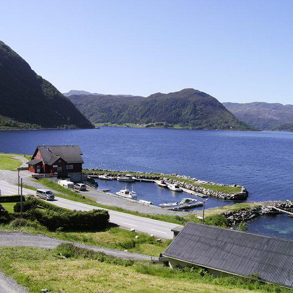 Angelreisen Norwegen 41525-527 Grendabu1 Hafen