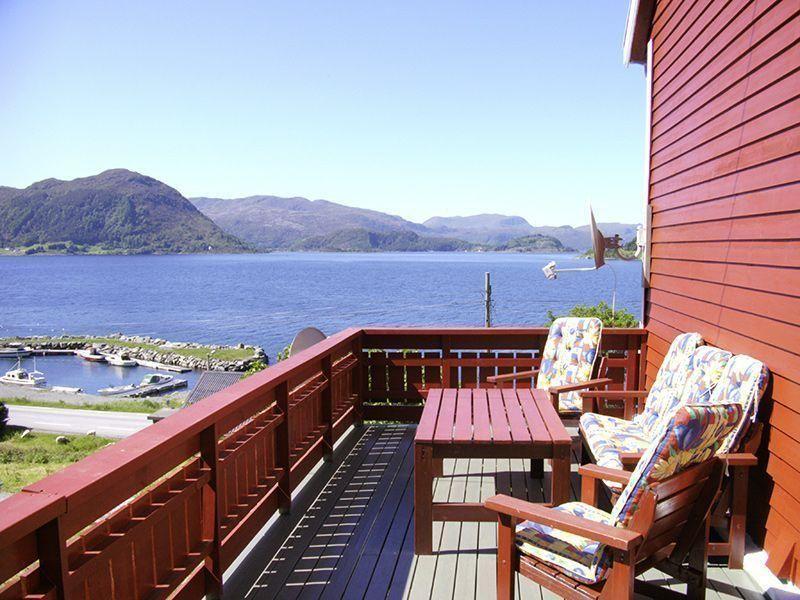 Angelreisen Norwegen 41527 Grendabu Terrasse