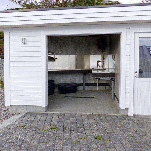 Angelreisen Norwegen 41530 Smørhamn Filetierhaus