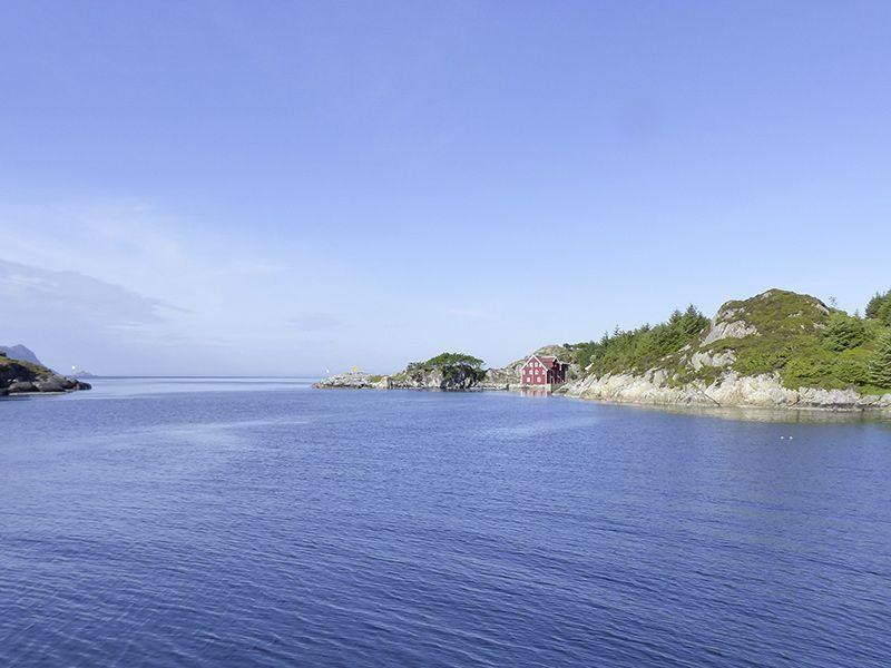 Angelreisen Norwegen 41530 Smørhamn Fjordblick