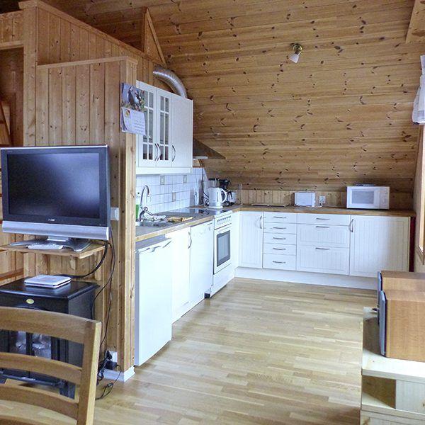 Angelreisen Norwegen 41542-543 Bakkevik Brygge Küche