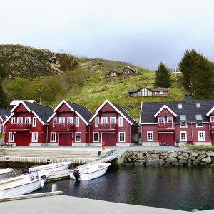 Angelreisen Norwegen 41542-547 Bakkevik Brygge Ansicht