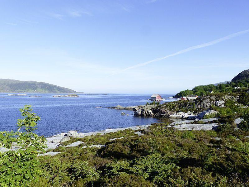 Angelreisen Norwegen 41542-547 Bakkevik Brygge Landschaft