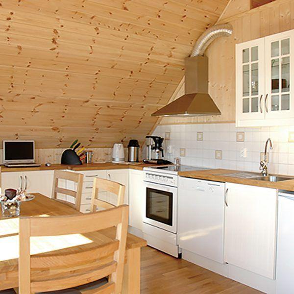 Angelreisen Norwegen 41544-545 Bakkevik Brygge Küche