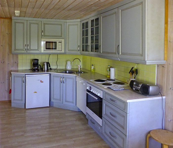 Angelreisen Norwegen 41590 Nordbotten Küche