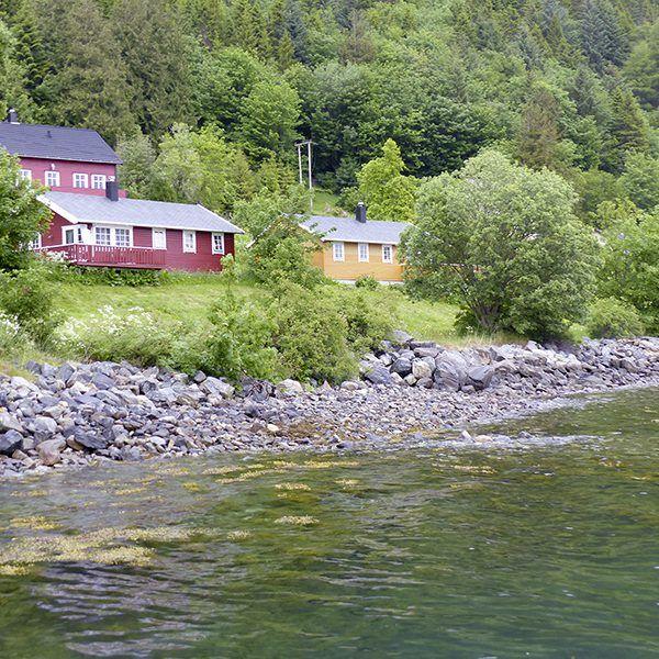 Angelreisen Norwegen 41641-645 Liset Feriesenter Ansicht vom Wasser