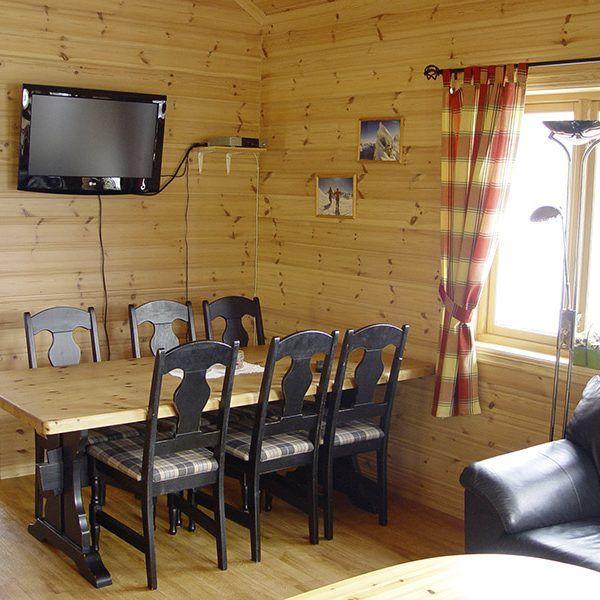 Angelreisen Norwegen 41661-662 Hustadnes Fjordhytter essen, wohnen