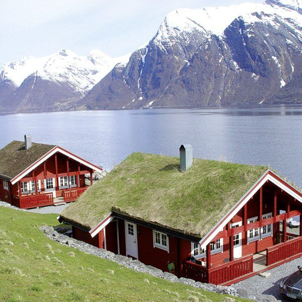 Angelreisen Norwegen 41661-662 Hustadnes Fjordhytter Panorama