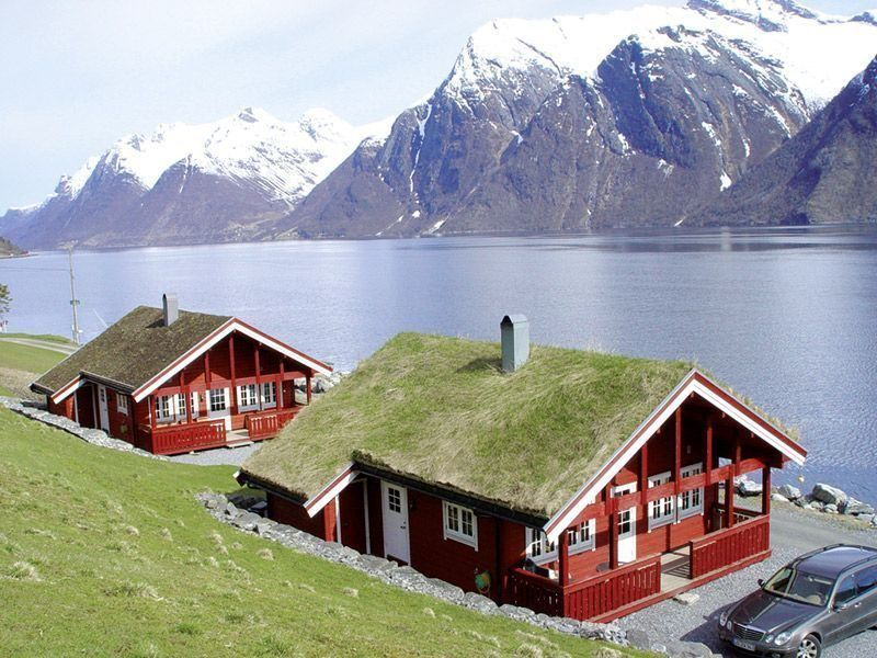 Angelreisen Norwegen 41661-41662 Hustadnes Fjordhytter Panorama