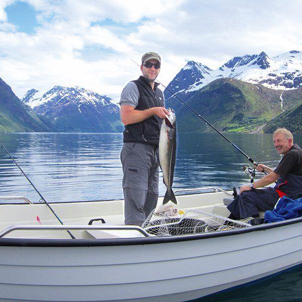 Angelreisen Norwegen 41661-663 Hustadnes Fjordhytter Köhler1