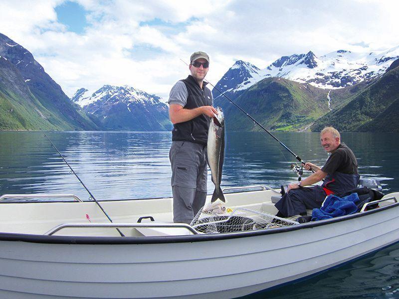 Angelreisen Norwegen 41661-41663 Hustadnes Fjordhytter Köhler