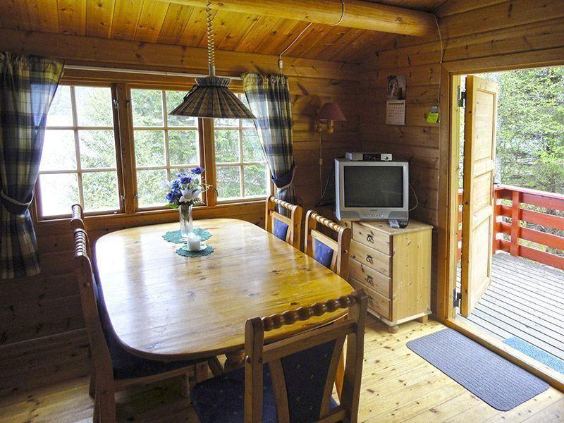 Angelreisen Norwegen 41663 Hustadnes Fjordhytter essen