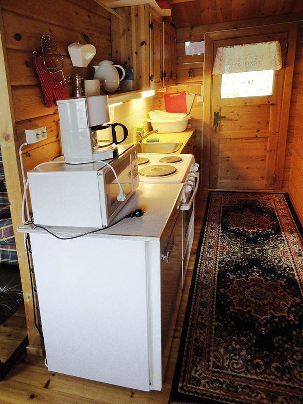 Angelreisen Norwegen 41663 Hustadnes Fjordhytter Küche