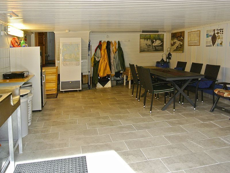 Angelreisen Norwegen 41780 Vestrefjord Aufenthaltsraum