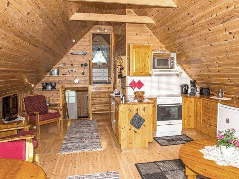 Angelreisen Norwegen 41800 Vestrefjord Küche