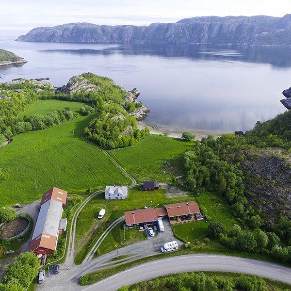 Angelreisen Norwegen 42441 Flatanger Guiding-Touren Luftbild2