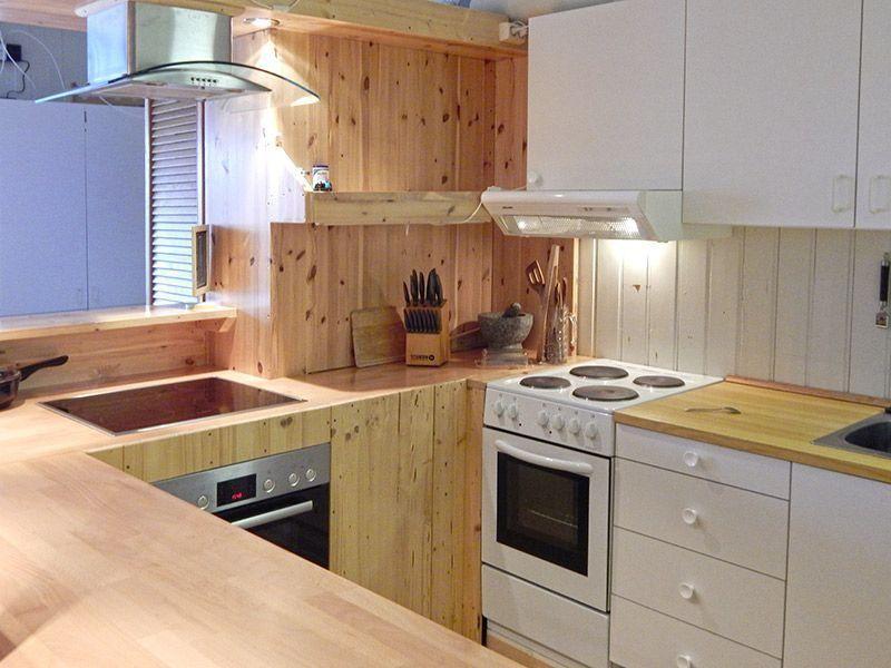 Angelreisen Norwegen 43001-005 Halibutskole Vandve Küche1