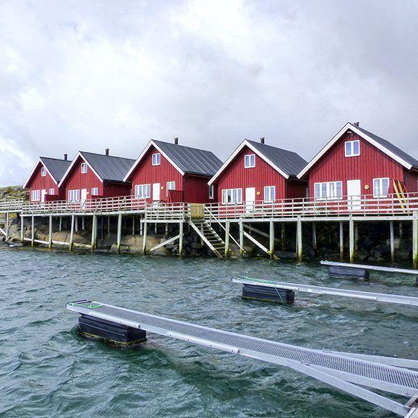 Angelreisen Norwegen 43301-305 Offersøy Feriesenter Ansicht