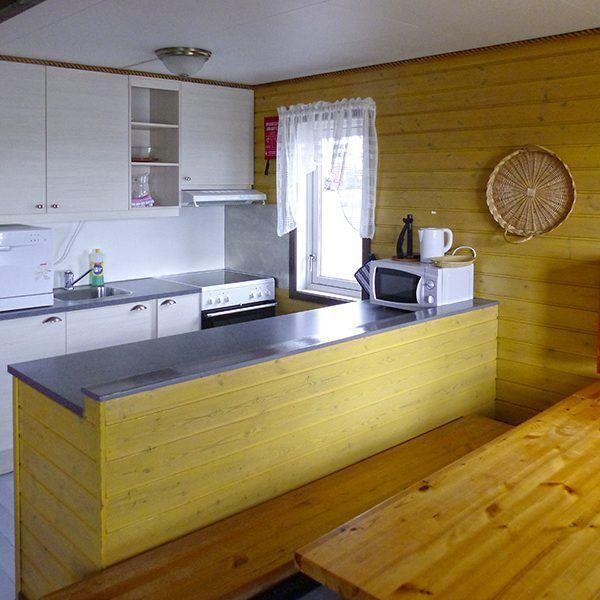 Angelreisen Norwegen 43301-305 Offersøy Feriesenter Küche