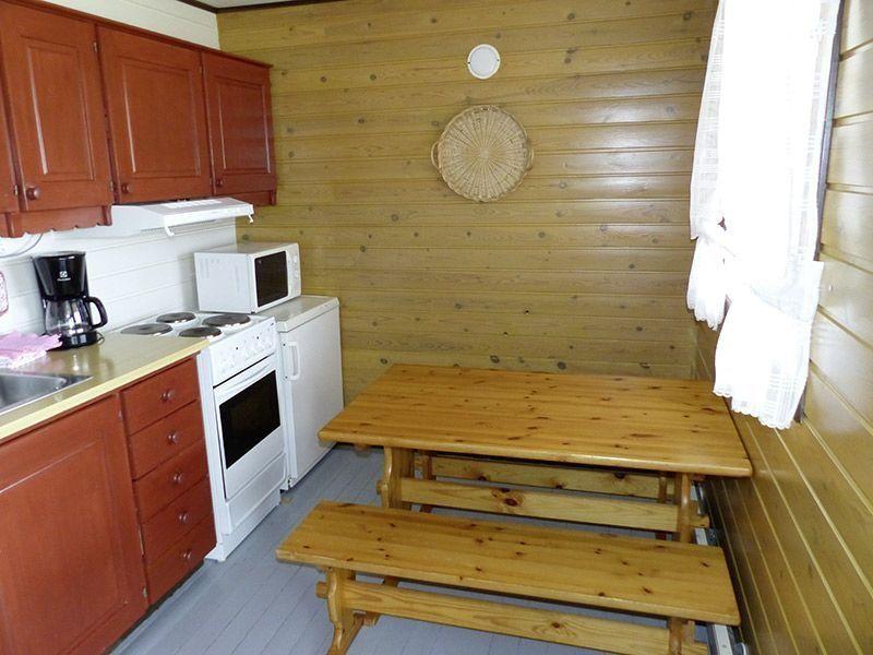 Angelreisen Norwegen 43311-43315 Offersøy Feriesenter Küche