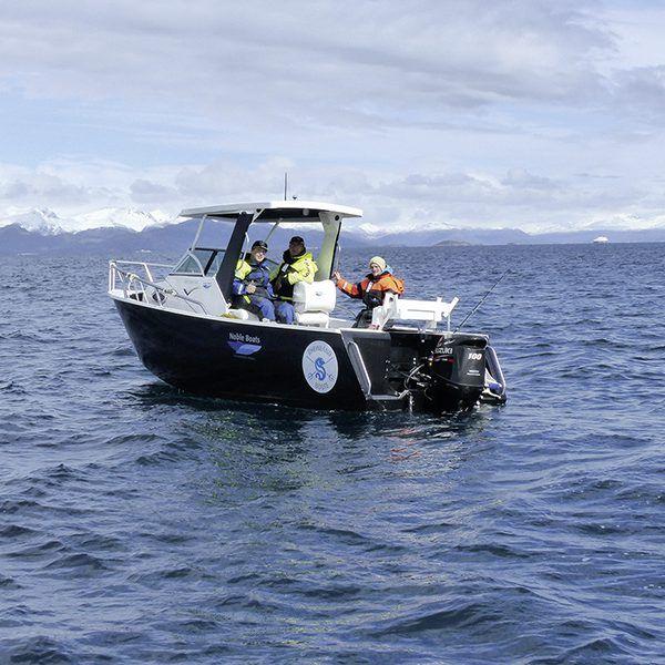 Angelreisen Norwegen 43411-424 Sommersel Fishing Camp Guidingboot