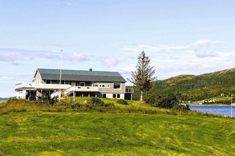 Angelreisen Norwegen 43700 Dåfjord Havfiske Hausansicht