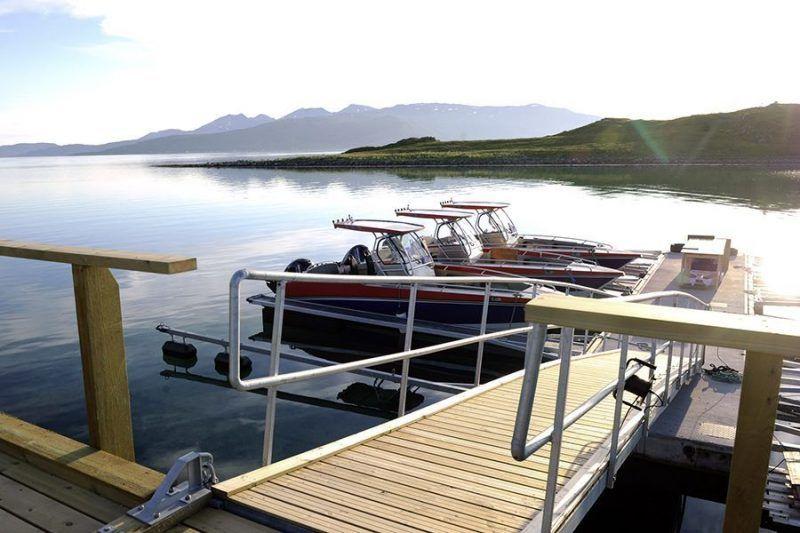 Angelreisen Norwegen Boote 43811-43823 Mikkelvik Brygge Boote