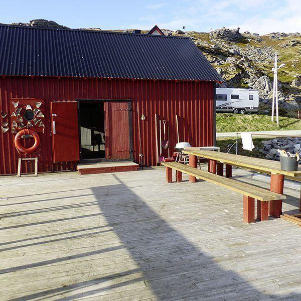 Angelreisen Norwegen 44001-010 Havøysund Sjøhus Bootshaus